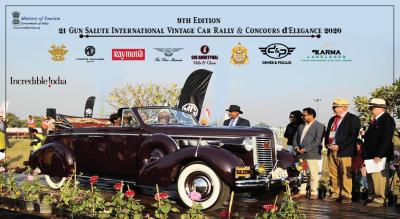 21 Gun Salute International Vintage Car Rally