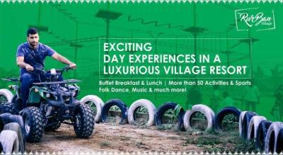 The Rurban Village - Full Day Adventure Activities and Buffet Food