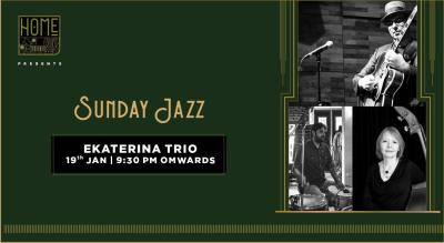 Sunday Jazz with Ekaterina Trio
