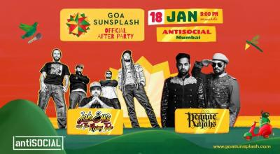 Goa Sunsplash | Official After Party