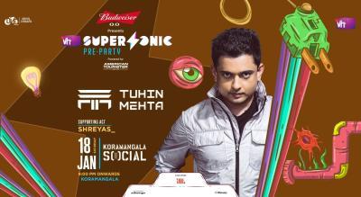 Vh1 Supersonic Pre Party ft. Tuhin Mehta & Shreyas_