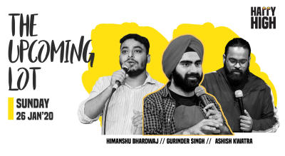 The upcoming lot - A standup comedy show