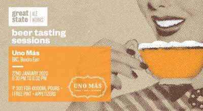 Beer Tasting Session at Uno Mas, BKC