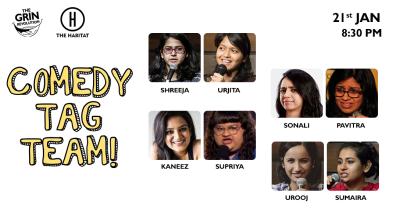 Grin Revolution: Comedy Tag Team!