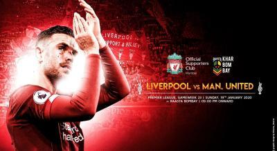 Liverpool v Manchester United | Mega Screening Mumbai
