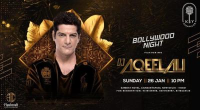 Bollywood Night ft.DJ Aqeel Ali
