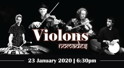 VIOLIN NOMADS - Fusion of Balkan & Classical Indian Music