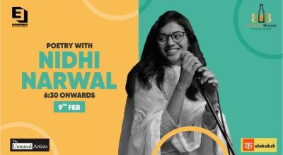 Poetry with Nidhi Narwal