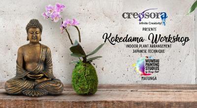 Kokedama Workshop at Mumbai Painting Studios