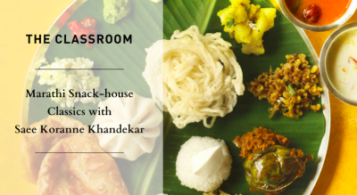 Marathi Snack-house Classics with Saee Koranne Khandekar