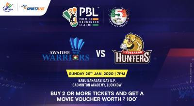 PBL 2020: Awadhe Warriors vs Hyderabad Hunters