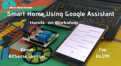Smart Home Using Google Assistant One day hands on Workshop