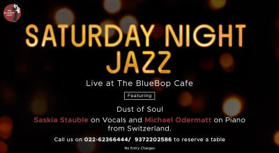 Live at The BlueBop Cafe on January 18th