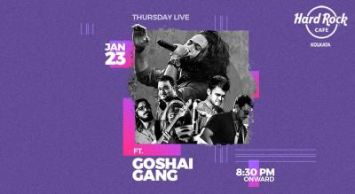 Thursday Live Tribute to Rock Legends ft. Goshai Gang