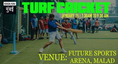 Turf Cricket At Future Sports Arena, Malad