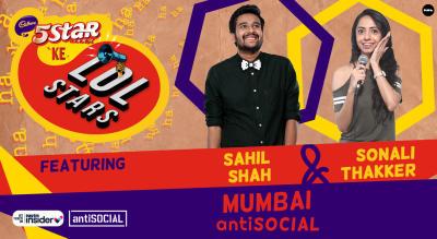 5Star ke LOLStars ft Sahil Shah & Sonali Thakker | Mumbai