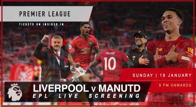 Liverpool v Manchester United | Mega Screening Bangalore