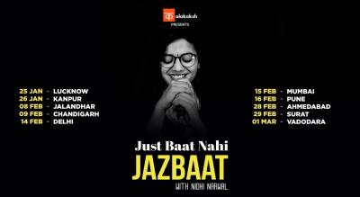 Just Baat Nahi Jazbaat With Nidhi Narwal | Ahmedabad