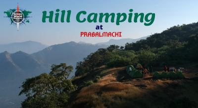 Hill Camping at Prabalmachi