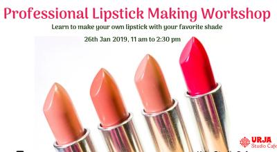 Professional Lipstick Making Workshop