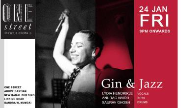 Gin & Jazz feat Lydia Henrijke