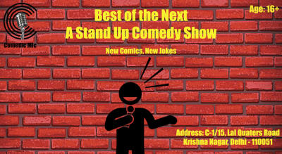 Best of the Next - A Stand Up Comedy Show
