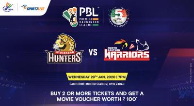 PBL 2020: Hyderabad Hunters vs North Eastern Warriors