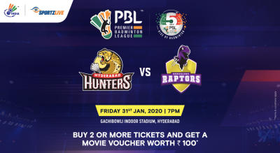 PBL 2020: Hyderabad Hunters vs Bengaluru Raptors