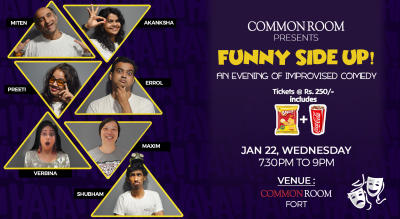Common Room presents - Funny Side Up!
