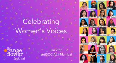 The Orange Flower Festival 2020 - Celebrating Women's Voices