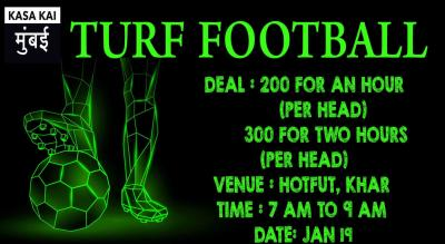 Turf Football At Hotfut South United Sports Arena, Khar