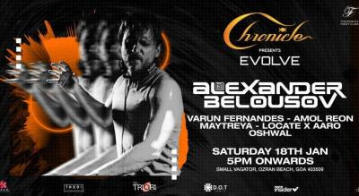 Chronicle presents Evolve with Alexander Belousov