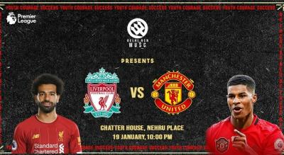 Liverpool vs Manchester United PL Match Screening