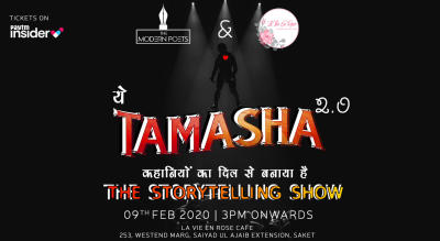 Tamasha 2.0 | The Storytelling Show By The Modern Poets