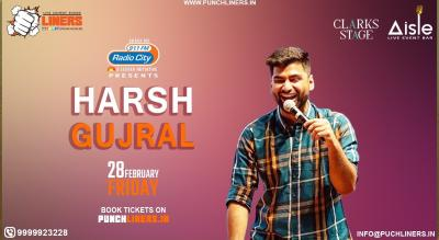Punchliners Comedy Show ft. Harsh Gujral