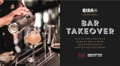Bira 91 Limited Release Bar Takeover at Saz