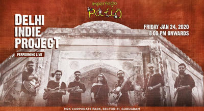 Delhi Indie Project Performing Live