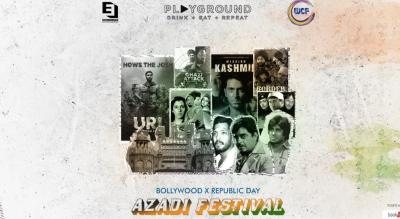 Azadi Festival - Bollywood X Republic Day