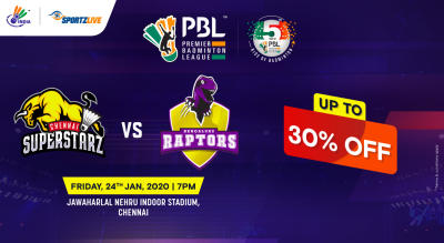 PBL 2020: Chennai Superstarz vs Bengaluru Raptors
