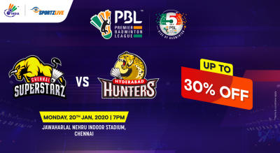 PBL 2020: Chennai Superstarz vs Hyderabad Hunters