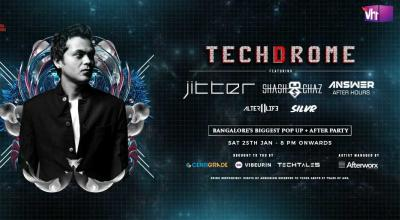 Techdrome Pop Up + Afterparty / 25th Jan / HIGH.