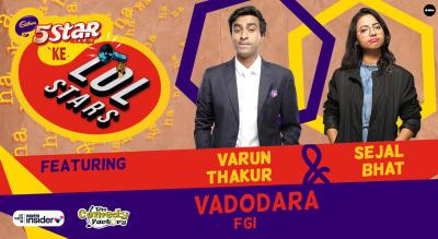 5Star ke LOLStars ft Varun Thakur & Sejal Bhat | Vadodara
