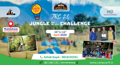 Jungle Run Challenge (JRC 2.0)- Mukteshwar, Uttarakhand