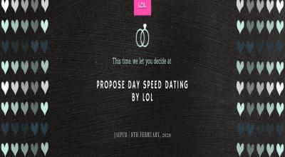 Propose Day Speed Dating JAIPUR Feb 8