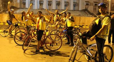 Midnight Cycling & Storytelling Tour -The Kimayagar of Bombay - (Colaba)