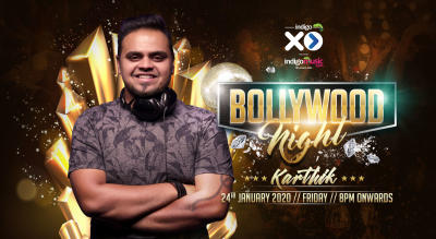Friday Bollywood Night ft. Dj Karthik