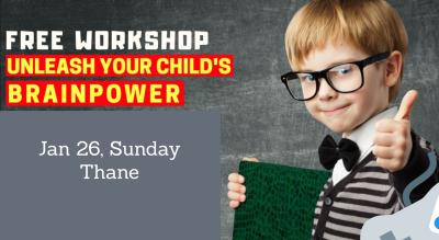 Unleashing Your Child's Brain Potential - Workshop for kids aged 5 to 16 years