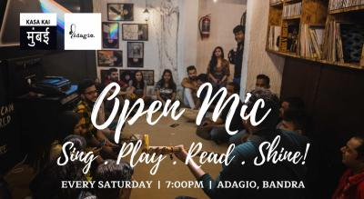 Open Mic At Adagio, Bandra