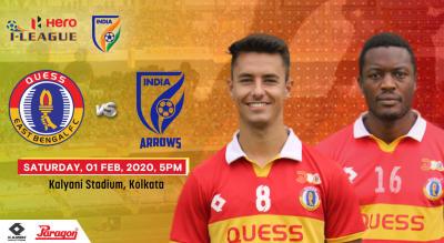 Hero I League 2019-20 - Quess East Bengal FC vs Indian Arrows