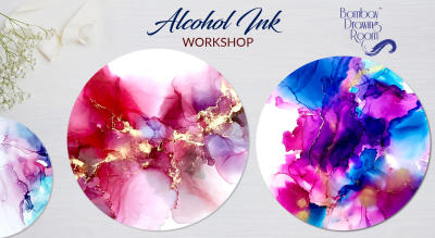Alcohol Ink Workshop by Bombay Drawing Room